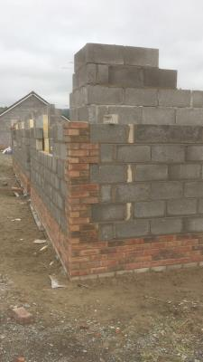 New build blockwork