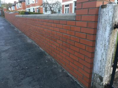 New Boundary wall