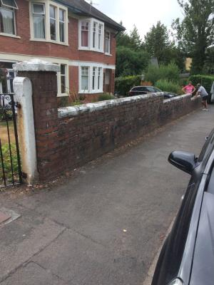 Original boundary wall